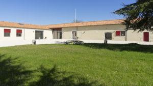 Domaine de l'Abadaire - Cour intérieure