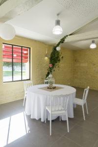 Table mariage Salle La Gripperie-Saint-Symphorien
