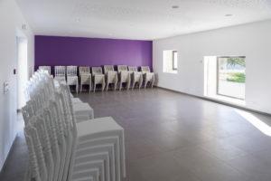 Salle Champagne pour réunions ou enfants