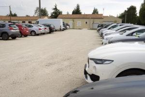 Grand parking - Domaine de l'Abadaire