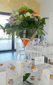 Bouquet décoration table de mariage